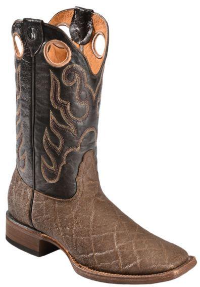 726286fd529 Tanner Mark Elephant Print Cowboy Boots - Square Toe - Sheplers ...