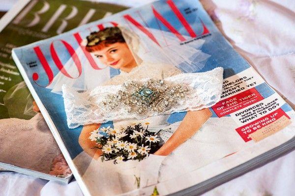 Glamorous 'Vogue' Wedding by Janet Lanza Photography