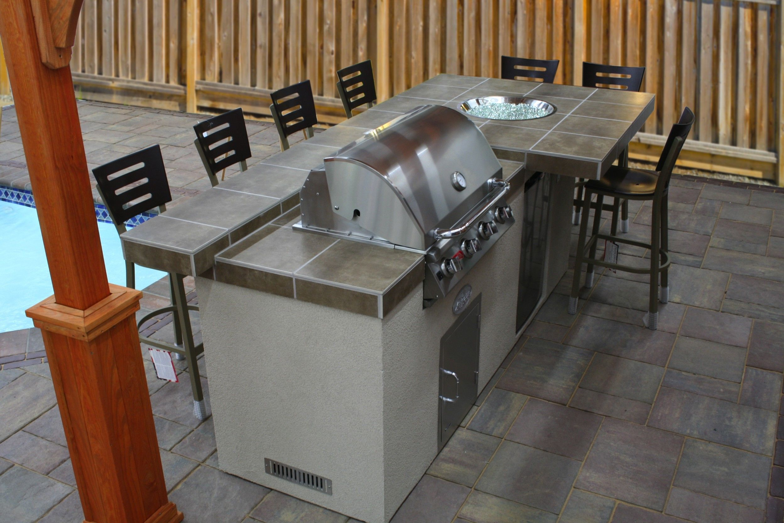 Pre Built Kitchen Islands Best In Backyards Outdoor Kitchen