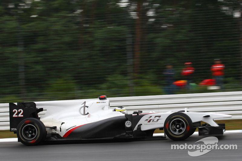 Pedro de la Rosa, BMW Sauber F1 C29, 2010