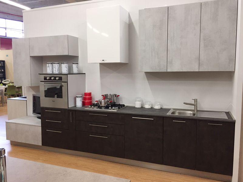 Mobili Arredissima ~ Cucina lineare in offerta completa di tutto lunghezza 405 cm a