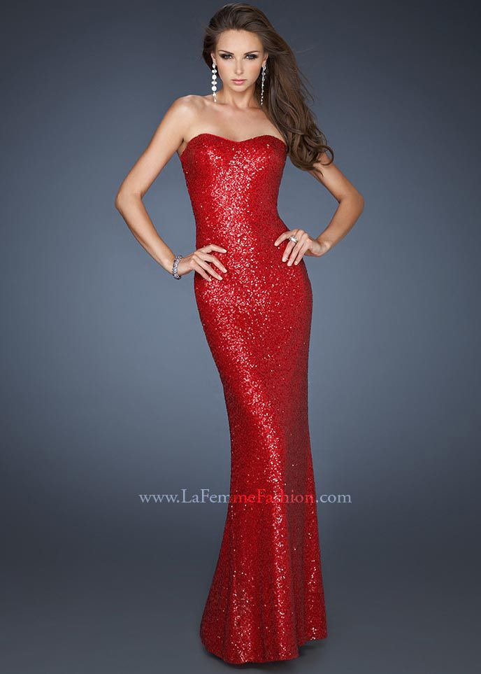 1000  images about la femme prom dresses on Pinterest - Beaded ...