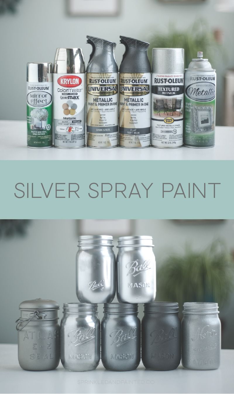 Silver Spray Paint Colors Home