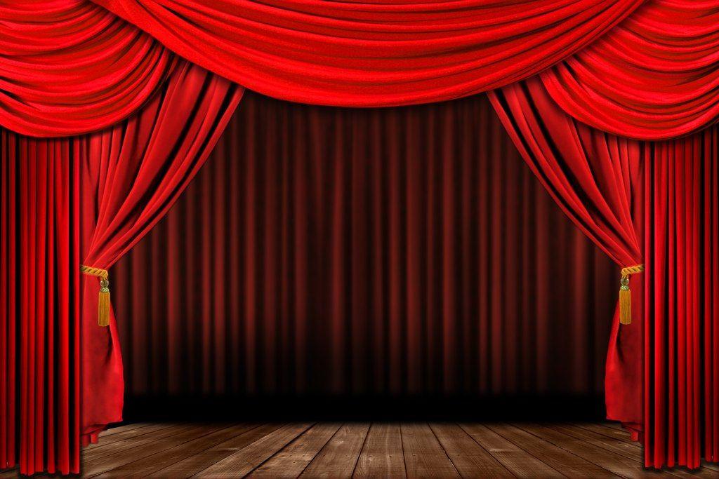 Velvet stage curtains - Background C I R C U S Party Pinterest