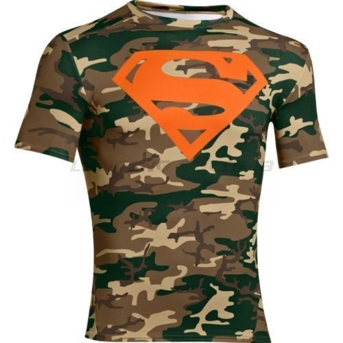 e896c1cf New Under Armour Men's Alter Ego SUPERMAN Camo Compression Shirt Size XL # UnderArmour #ShirtsTops