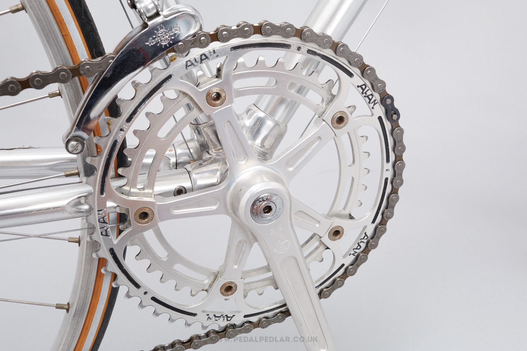 54cm Alan Vintage Road Racing Bike Pedal Pedlar 19 Road Racing Bike Road Racing Bike
