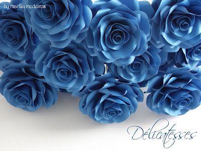 Amazing paper roses