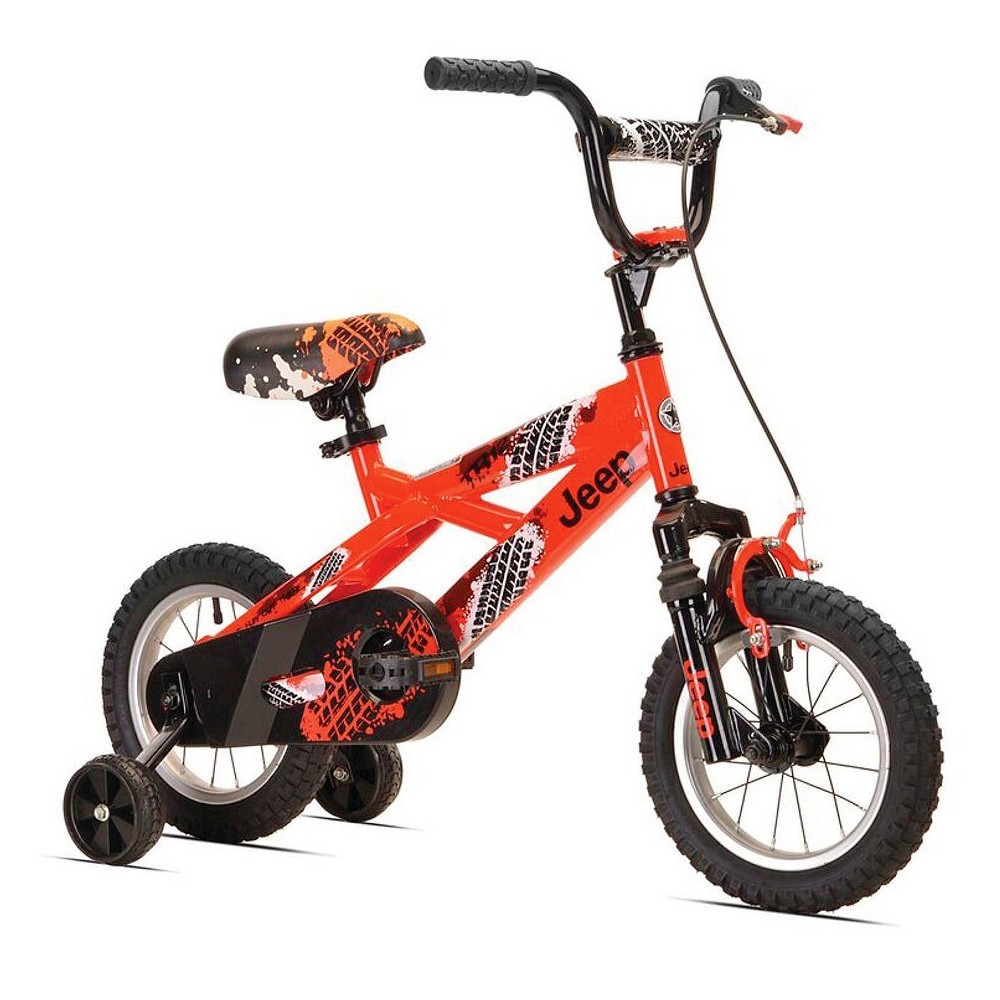 Provide Hours Of Outdoor Activity With This Boy S Jeep Bicycle It