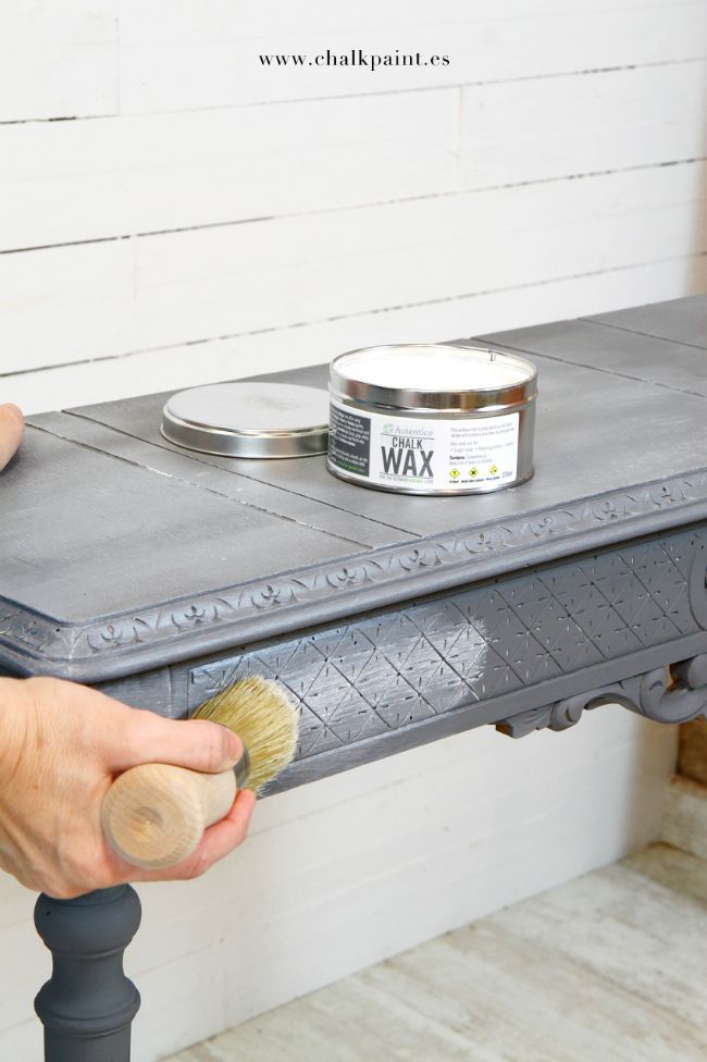 chalk paint, autentico chalk paint, tutorial, tutorial chalk paint