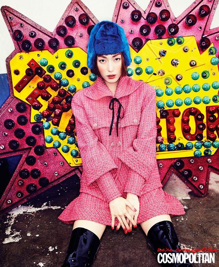 2013 F/W 컬렉션 키 룩, Cosmopolitan Korea August 2013