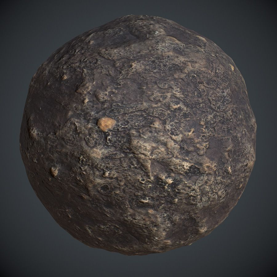 Cave Floor PBR Material 1 Texture art, Physically based