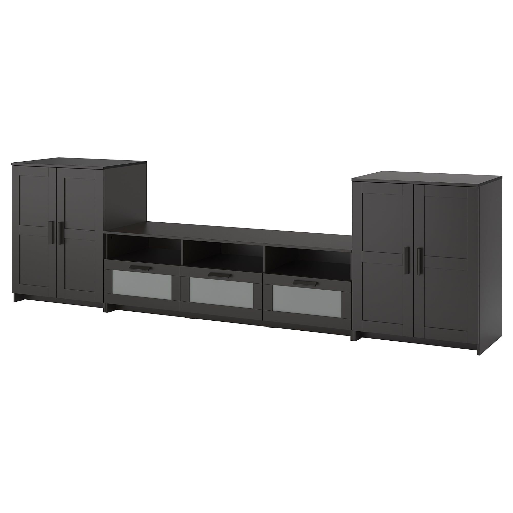 Ikea Glasregal Schwarz Brimnes Tv Möbel Kombination Schwarz In 2019 Products Tv