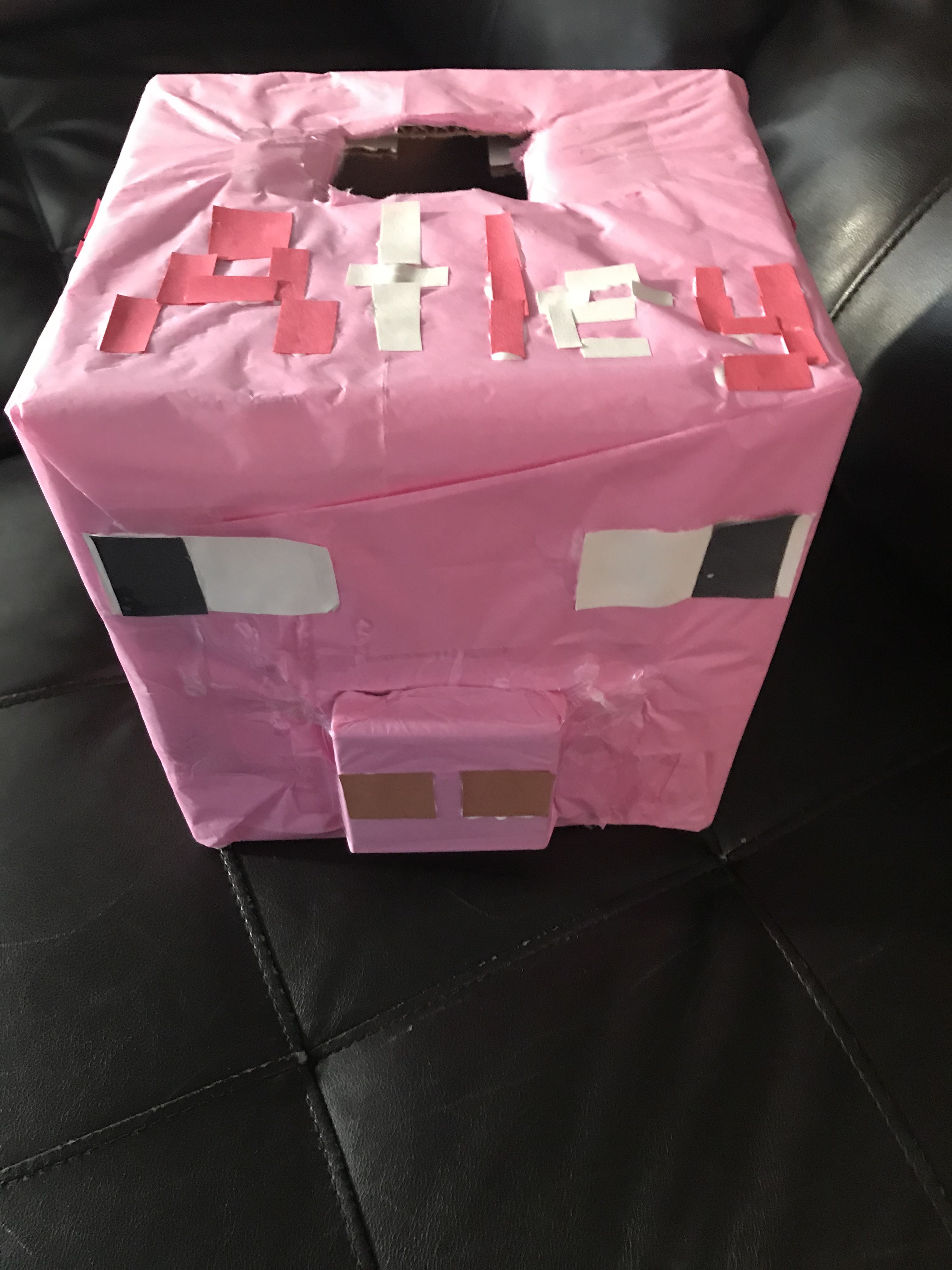 Minecraft pig valentine box Pig bag, Bags, Ted baker