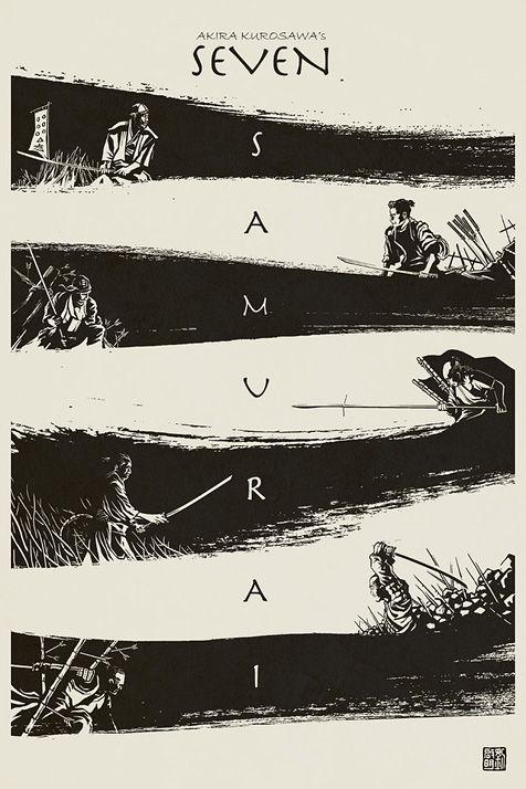 i love seven samurai SO SO MUCH.