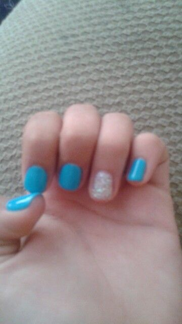 I love gel nails!! <3