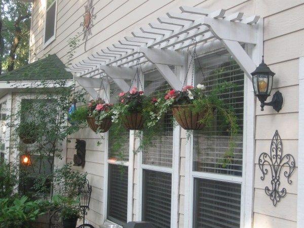 Remodelaholic 25 Inspiring Outdoor Window Treatments Pergola Backyard Retreat Diy Backyard