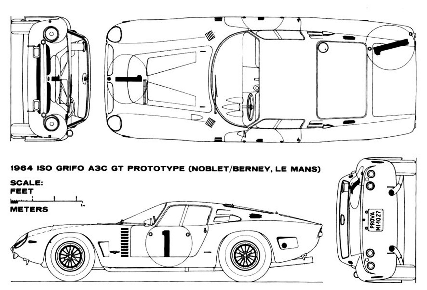 Iso grifo ac3 gt prototype smcars car blueprints forum all net car blueprints forum malvernweather Image collections