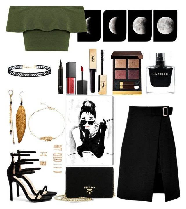 """Untitled #307"" by meynell ❤ liked on Polyvore featuring beauty, WearAll, storets, Prada, LULUS, Liliana, Forever 21, Smashbox, Tom Ford and Narciso Rodriguez"