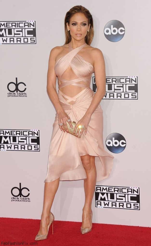 Photo of The American Music Awards 2014 – Jennifer Lopez walked on the red carpet of …
