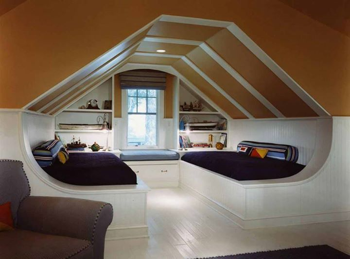 Pin By Andrea Schoeneberger On Attic Spaces Attic Bedroom Small Small Attic Room Attic Bedroom Designs