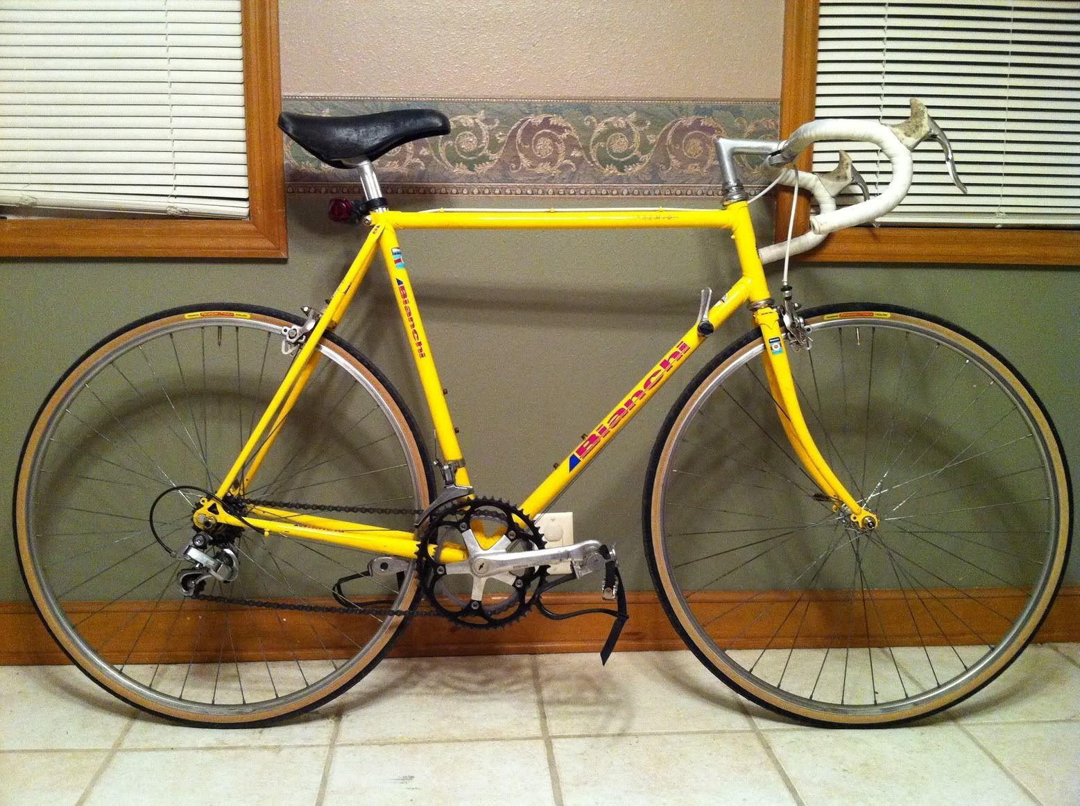 Vintage Bicycle Yellow Brake Hoods Google Search Vintage Bicycles Bicycle Bike