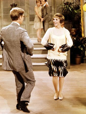 Jimmy James Fox And Millie Julie Andrews Doing The Tapioca Thoroughly Modern Millie 1967 Julie Andrews Vintage Film Theatre Geek