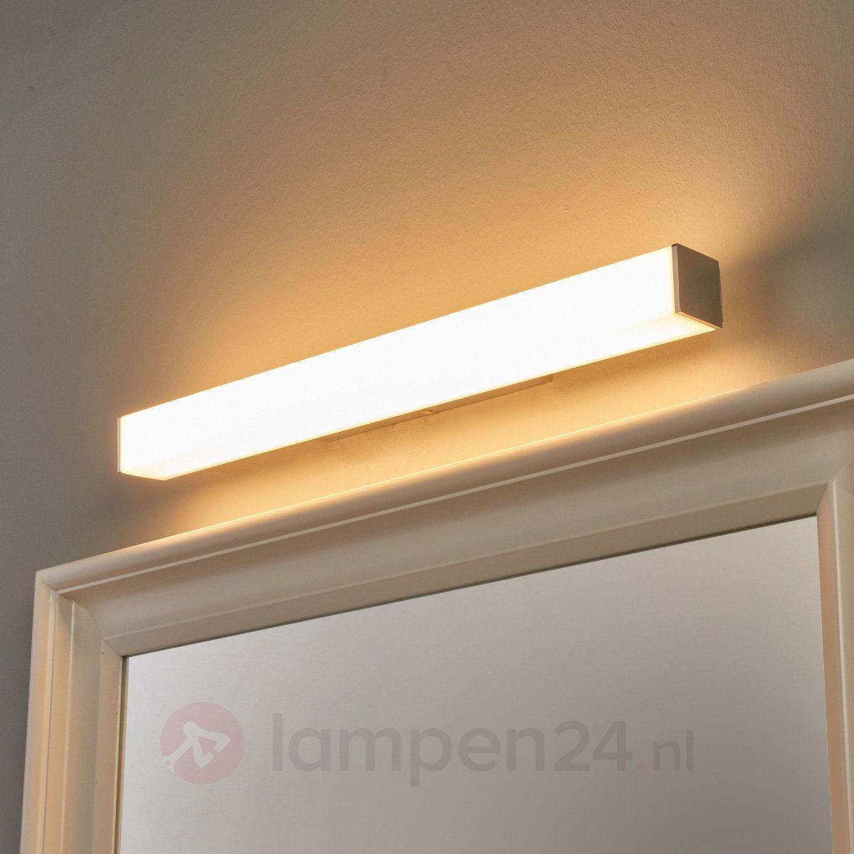Badkamer wandlamp Lenn in recht. vorm met LED\'s 9641061 ...