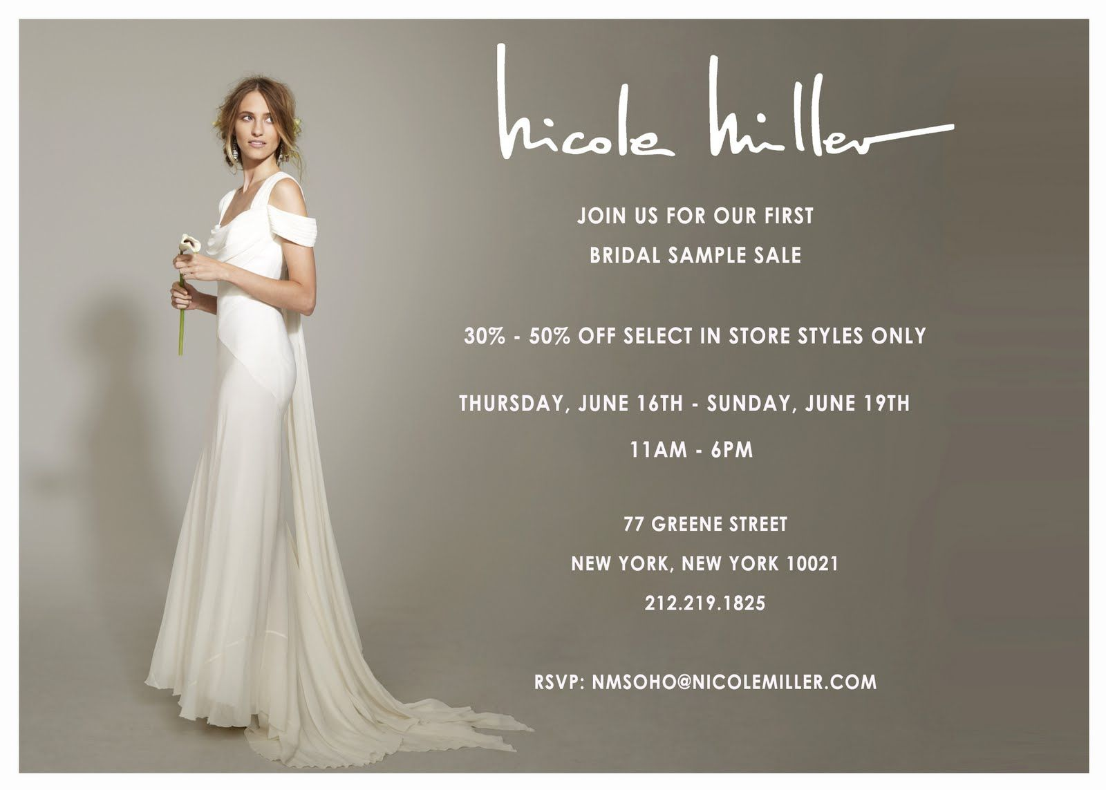 100+ Sample Sale Wedding Dresses Nyc - Dress for Country Wedding ...