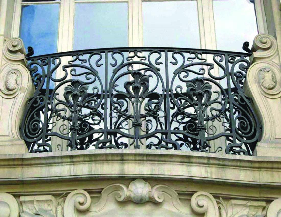 Balcony Railing Concepts | Iron balcony, Balcony railing ...