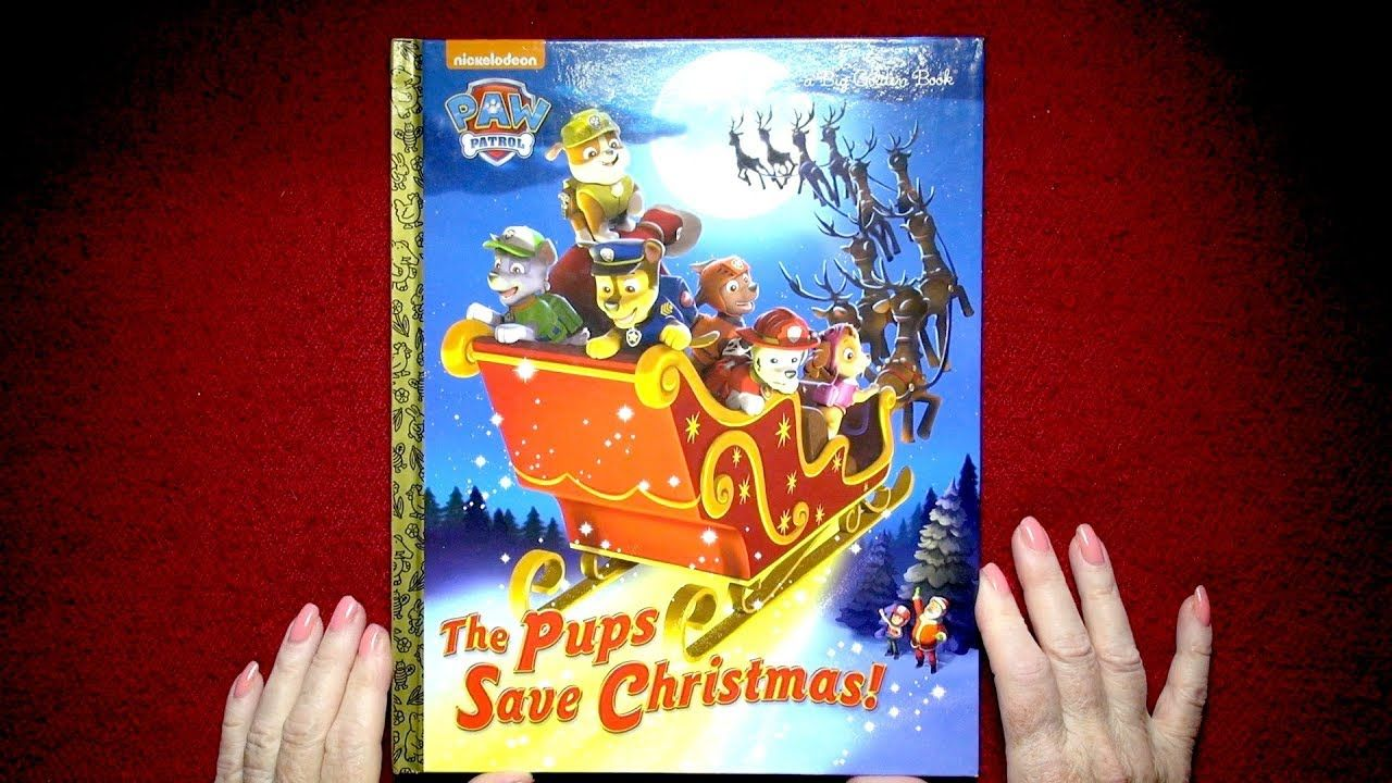 Pups Save Christmas Book.Paw Patrol The Pups Save Christmas Read By Nita
