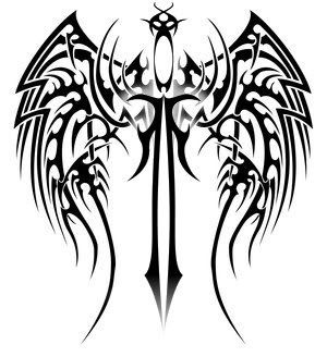 Spine Tattoo Sword Tribal Wing Tattoos Tips For New Tattoo