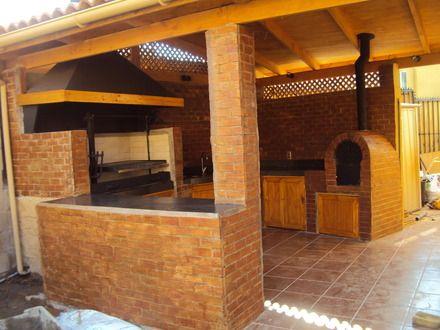 Modelos de quinchos de ladrillos buscar con google for Tipos de material para techos de casas