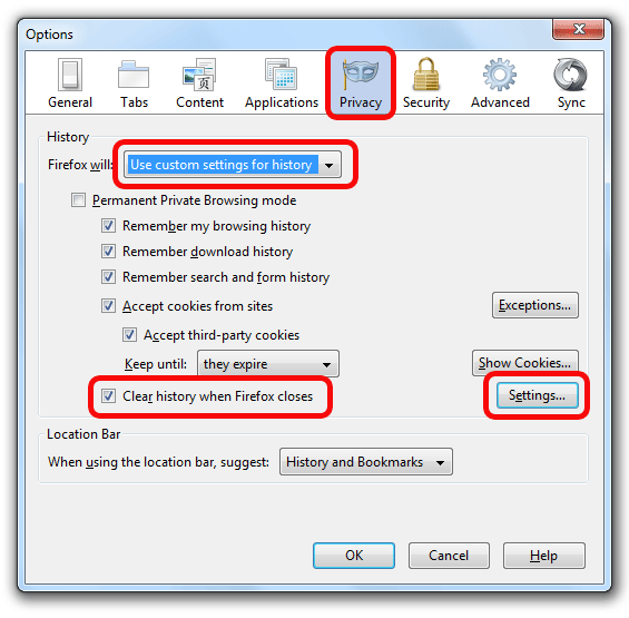 b3da8ab7308d3f23be88c4b0be696b0b - How To Get Rid Of History On Mozilla Firefox