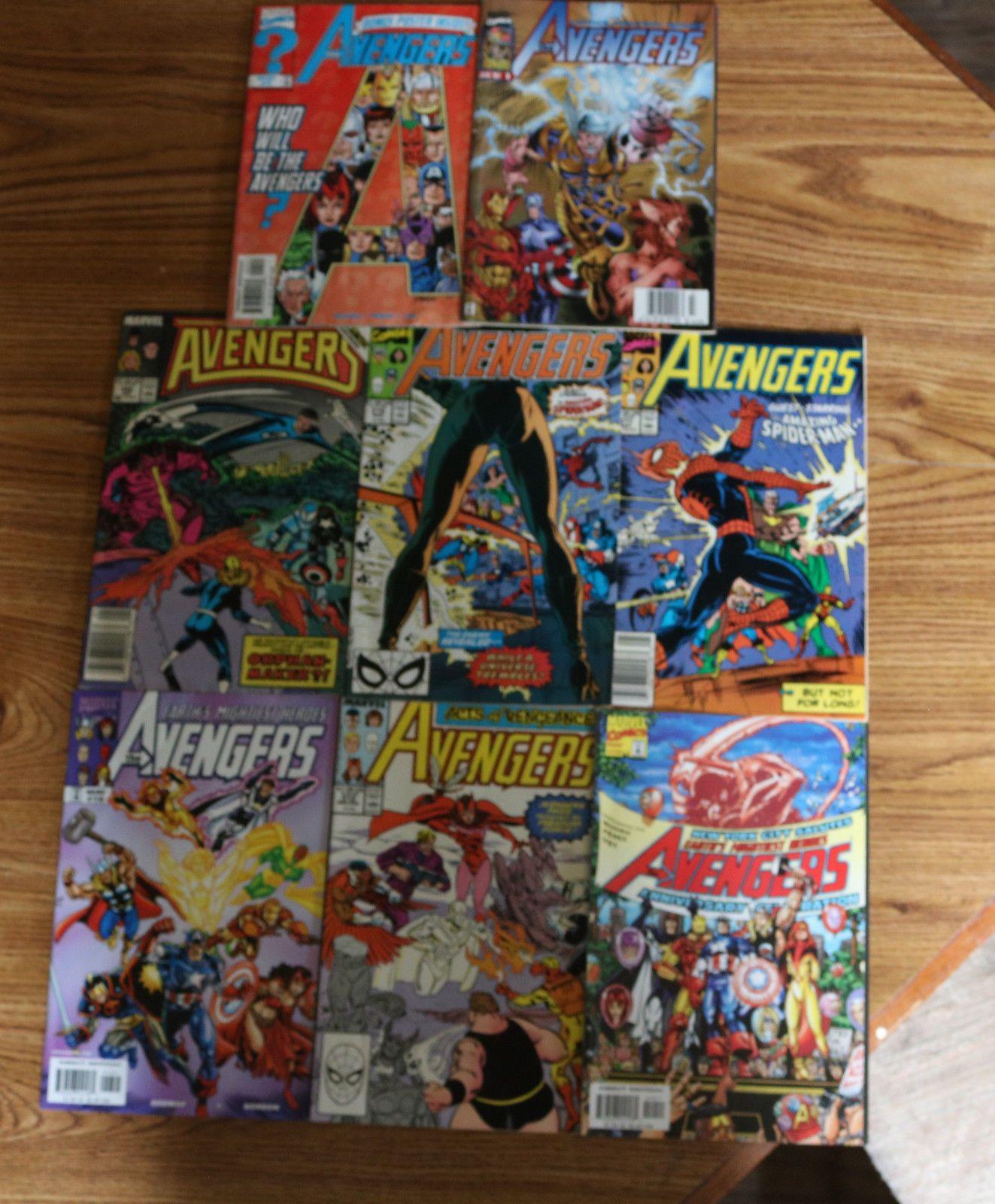 Marvels Avengers Comics Lot Of 8 $2000 (0 Bids) End
