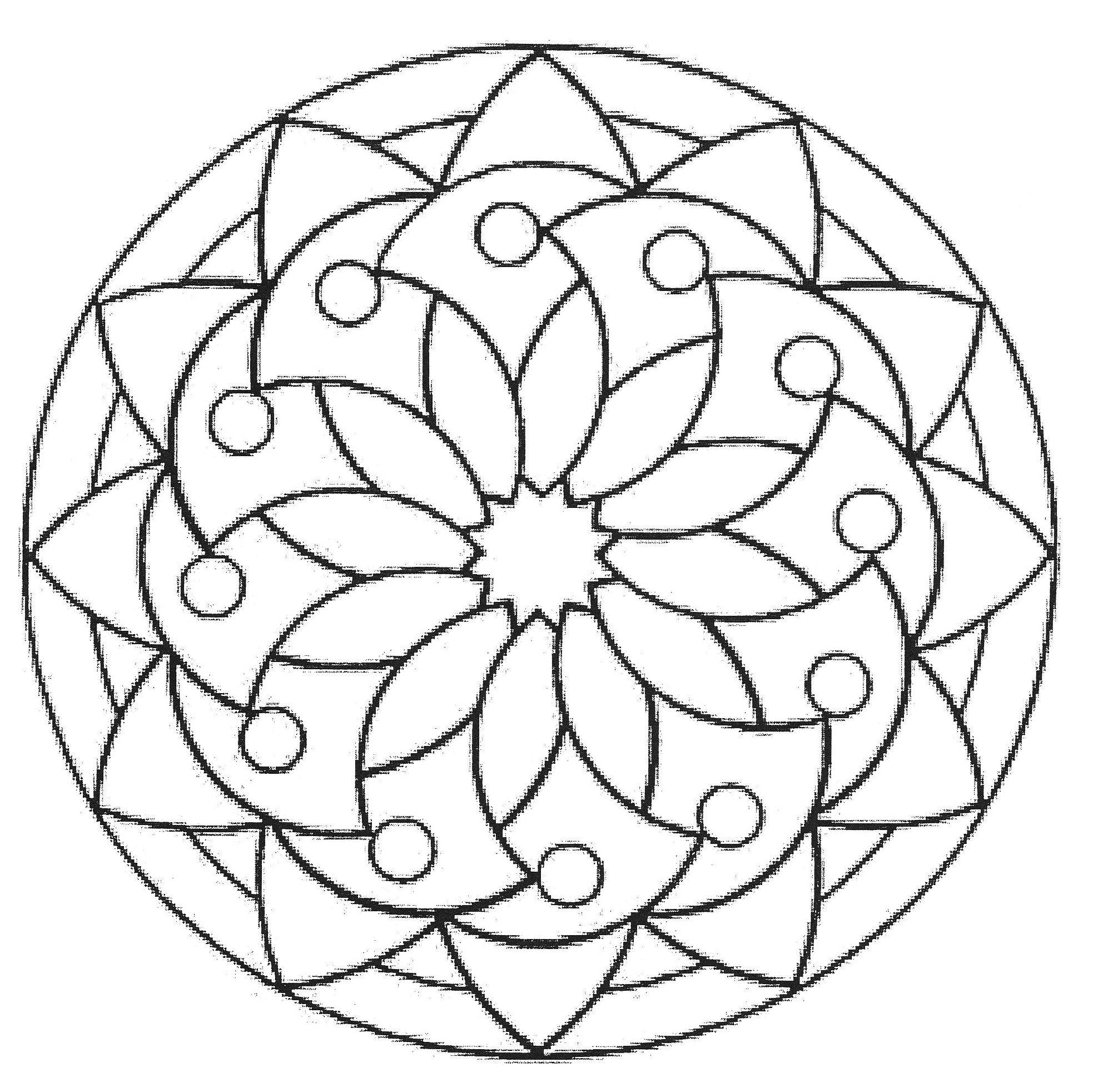 Mandala Modelos - Hippie Mandala, Tie Dye & More | Mandalas ...
