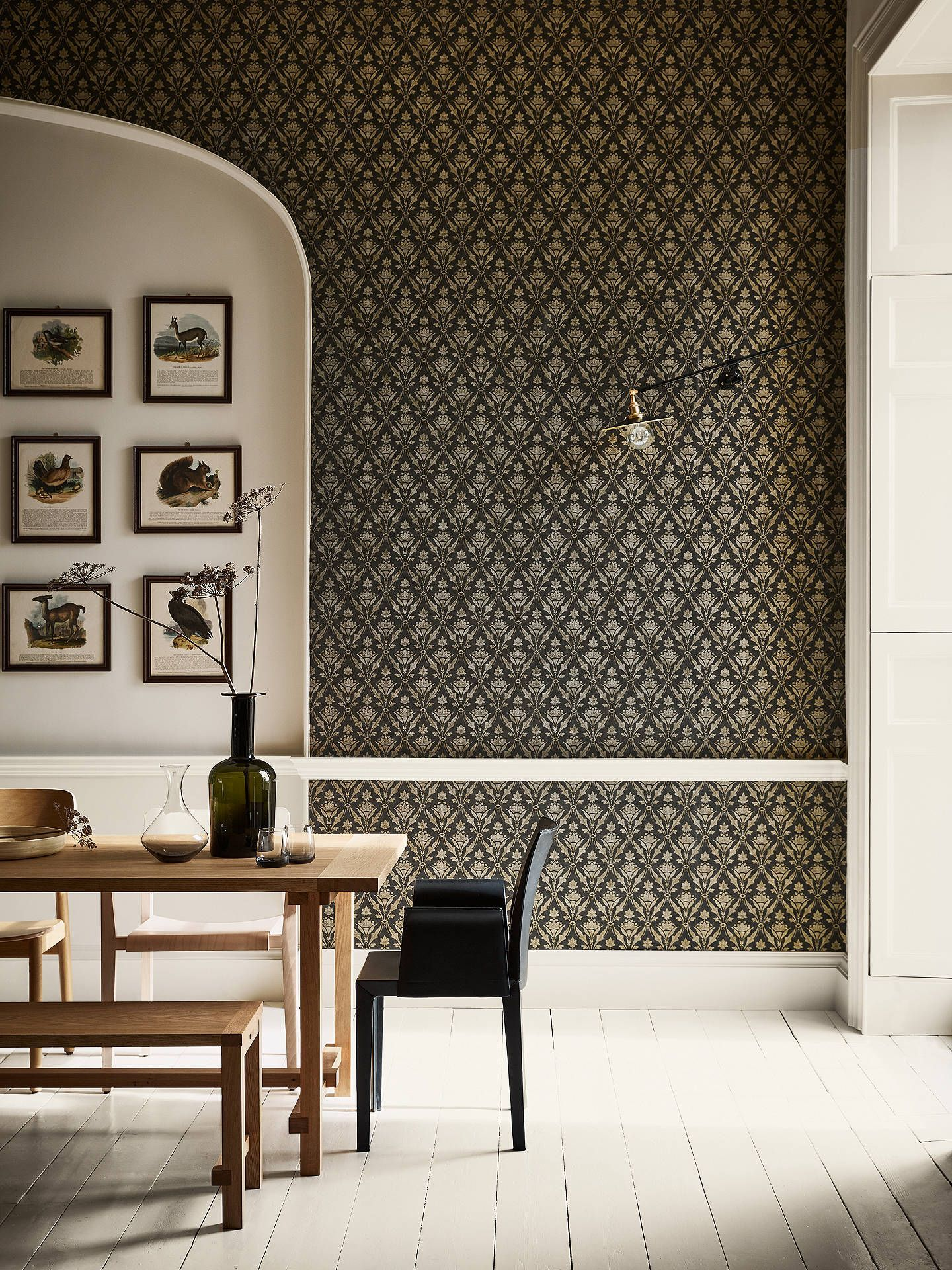 Kitchen Wallpaper Design Ideas 15 Beautiful Ways To Add Character Bathroom Wallpaper Contemporary