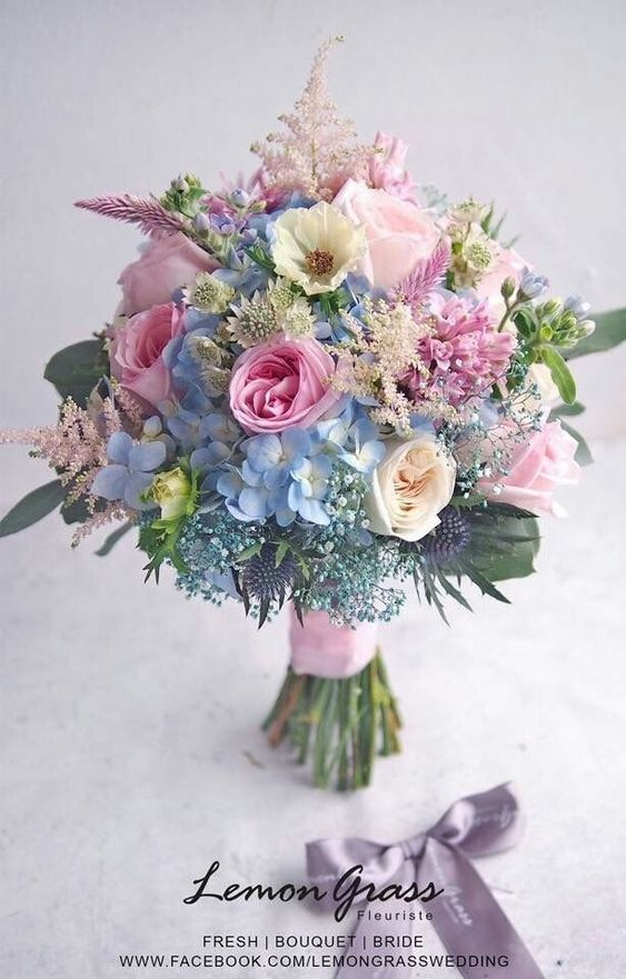 12 wedding Flowers pastel ideas