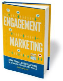 Engagement Marketing by Gail Goodman. Stop worrying about the number of Facebook fans and Twitter followers you have (or don't have). The secret to getting customers to care about your business is finding meaningful ways to engage them over the long term.