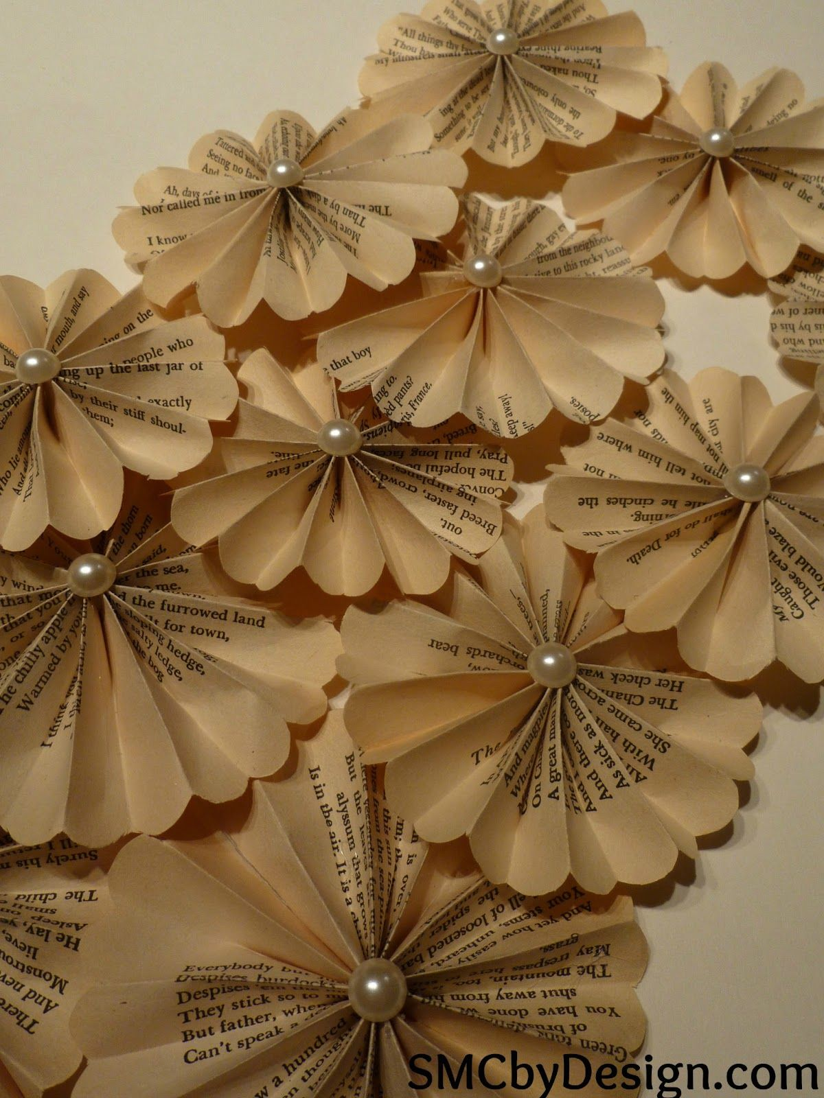 Smc By Design Vintage Paper Flowers Paper Flowers Flower Crafts Vintage Paper
