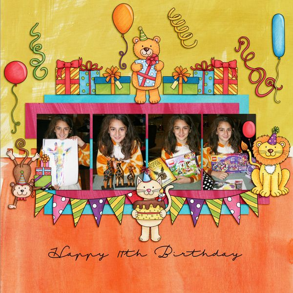 happy 11th birthday - Scrapbook.com