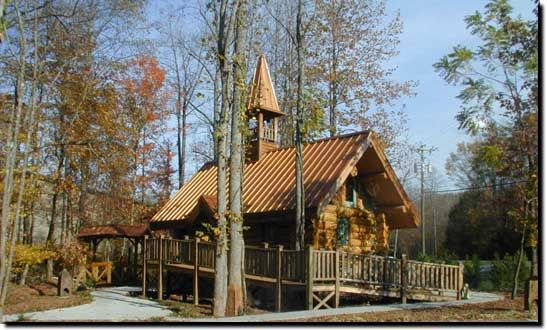 Almost Heaven Wedding Chapel Gatlinburg TN 865 430 9150 800