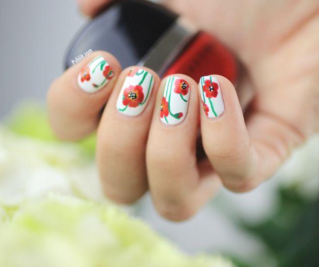 PSHIIIT Poppy #nail #nails #nailart