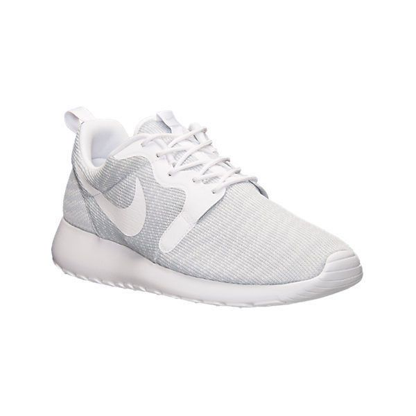 Nike Jacquard Roshe Chaussures Pour Hommes Blancs