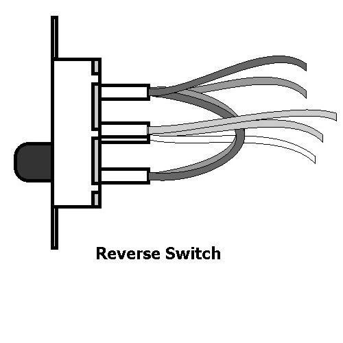 Reverse switch wv62000 black six pole dpdt reverse switch explore pure white ceiling fan and more reverse switch mozeypictures Images