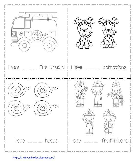 Math Worksheet For Fire Safety Week With Images Fire Safety Theme Fire Safety Week Fire Safety Preschool