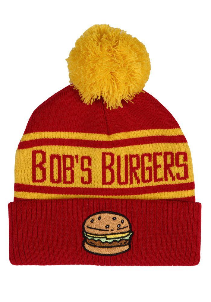 40b3dadbb BOB'S BURGERS Bob's Burgers Logo Pom Beanie | Accessories: Scarfs ...