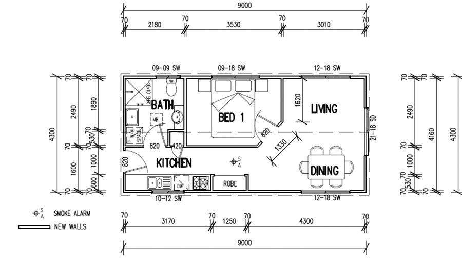 Granny flat google image result for http www for Granny flats floor plans