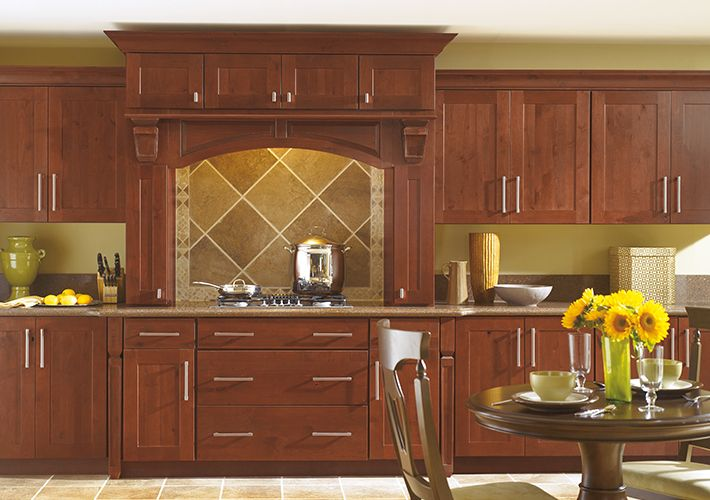 Thomasville Traditional Kitchen In Brown With Eden Doors  Kitchen Adorable Home Depot Kitchen Doors 2018