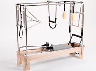 Combination Cadillac Trapeze Pilates Reformer I Signed Up For My First Cl Next Week M A Little Scared
