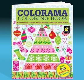 Colorama Christmas Coloring Book